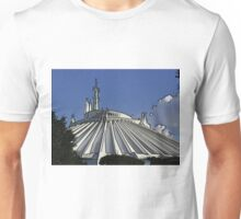 Space Mountain Cartoon Disneyland Disney World Unisex T-Shirt