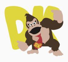 Super Smash Bros Donkey Kong Kids Clothes