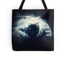 Hands and Light in Photography Tote Bag