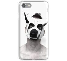 Behind the mask is a mask iPhone Case/Skin