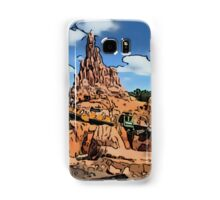 Big Thunder Mountain Cartoon Disney World Disneyland Samsung Galaxy Case/Skin