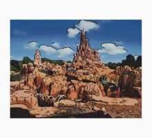 Big Thunder Mountain Cartoon Disney World Disneyland One Piece - Short Sleeve