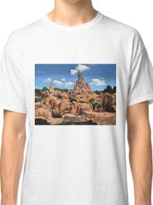 Big Thunder Mountain Cartoon Disney World Disneyland Classic T-Shirt
