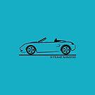 Porsche Boxster 986 Black by Frank Schuster