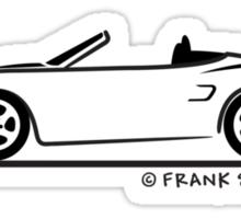 Porsche Boxster 986  Sticker