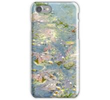 Fallen Leaves In The Creek iPhone Case/Skin