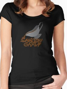 Shallow Gravy Women's Fitted Scoop T-Shirt