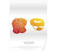 Maverick's Aviators & Dogtags Poster