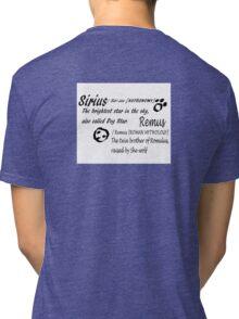 Wolfstar names Tri-blend T-Shirt