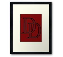 Daredevil shirt, hoodie and more Framed Print