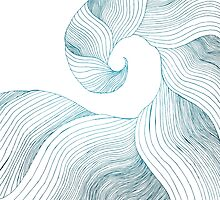 Tidal Wave (Teal Edition) by Lacy Snider
