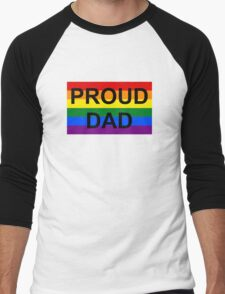 PROUD DAD Men's Baseball ¾ T-Shirt