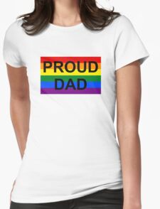 PROUD DAD Womens Fitted T-Shirt