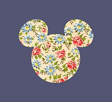 Floral Mouse Ears by Jason  McNaughton