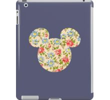 Floral Mouse Ears iPad Case/Skin