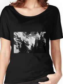 Alpine Classic (B/W) Women's Relaxed Fit T-Shirt