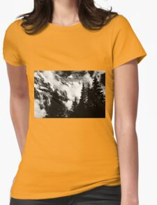 Alpine Classic (B/W) Womens Fitted T-Shirt