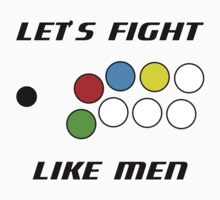Arcade Stick: Let's Fight Like Men by Will2