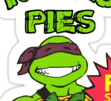 Teenage Mutant Puddin' Pies Sticker