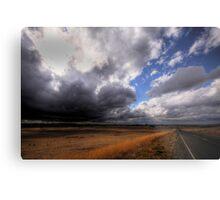 Stormy Plains Metal Print
