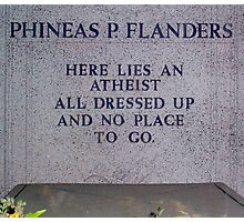 Funny Phinney Photographic Print