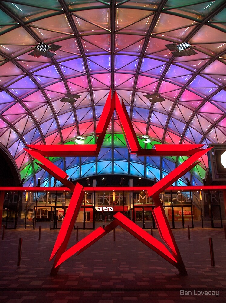 Adelaide Entertainment Centre by Ben Loveday