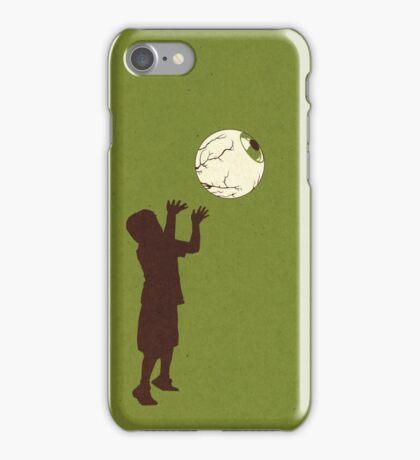 Eye Ball, Green iPhone Case/Skin