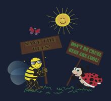 Bees Are Cool One Piece - Short Sleeve