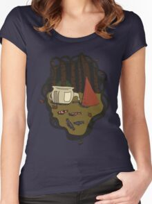Into The Unknown  Women's Fitted Scoop T-Shirt