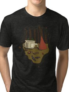 Into The Unknown  Tri-blend T-Shirt