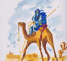 Azure Berber by Shoaib Zaheeruddin