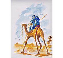 Azure Berber Photographic Print