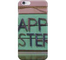 Happy Easter Sign iPhone Case/Skin
