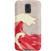 Cherry Waves Samsung Galaxy Case/Skin