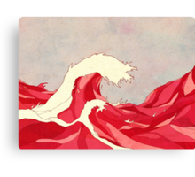 Cherry Waves Canvas Print
