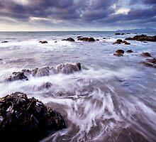 Pukerua Bay Stormscape by Ken Wright