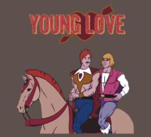 Young Love (He-Man and Bow) Kids Clothes