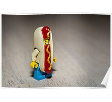 Hot Dog Costume Poster