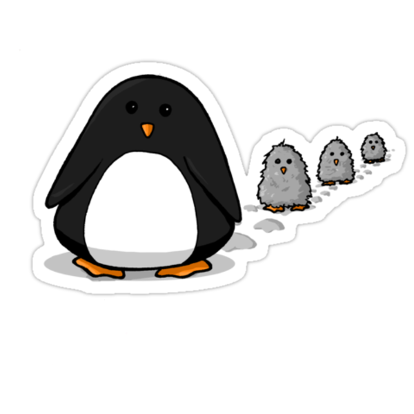 March of the Penguins by Maureen Babb