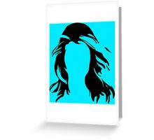 Without a Face Greeting Card
