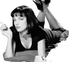 Pulp Fiction- Mia Wallace by chickenugget