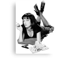 Pulp Fiction- Mia Wallace Canvas Print
