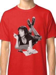 Pulp Fiction- Mia Wallace Classic T-Shirt