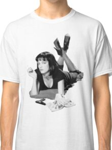 Pulp Fiction- Mia Wallace Classic T-Shirt