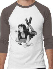 Pulp Fiction- Mia Wallace Men's Baseball ¾ T-Shirt