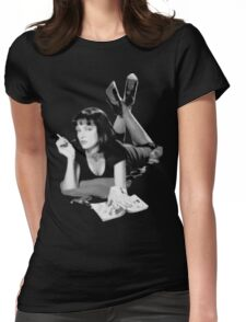 Pulp Fiction- Mia Wallace Womens Fitted T-Shirt