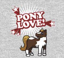 Pony Love One Piece - Long Sleeve