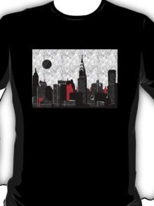 New York City Skyline Swing  T-Shirt