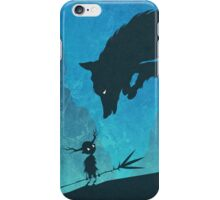 Boy and Fox iPhone Case/Skin