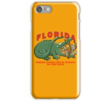 Florida - Living Life on the Edge iPhone Case/Skin